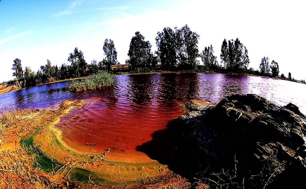 Красная река Рио Тинто - интересное и нестандартное место для туриста || Река рио тинто испания
